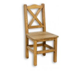 Jídelní židle z masivu 02 - selský nábytek