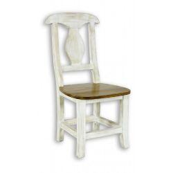 Jídelní židle z masivu 03 - selský nábytek