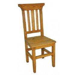 Jídelní židle z masivu 04 - selský nábytek