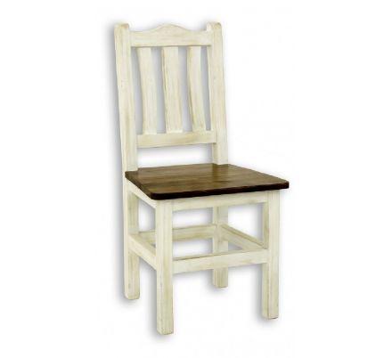 Jídelní židle z masivu 05 - selský nábytek