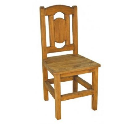 Jídelní židle z masivu 07 - selský nábytek
