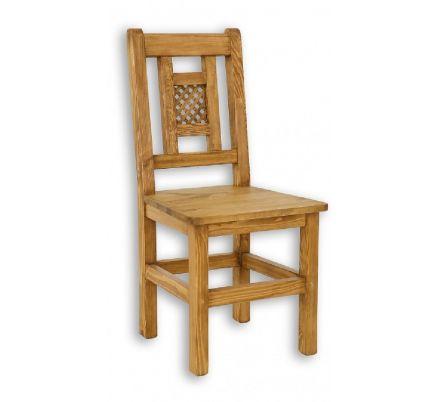 Jídelní židle z masivu 08 - selský nábytek