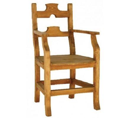 Jídelní židle z masivu 12 - selský nábytek