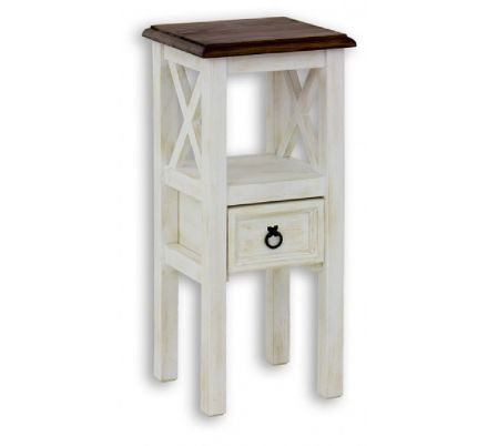 Stolička z masivu 10 - selský nábytek