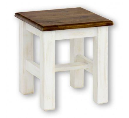 Stolička z masivu 21 - selský nábytek
