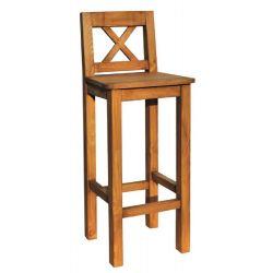 Barová židle z masivu 23 - výběr moření