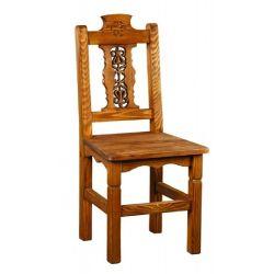 Jídelní židle z masivu 24 - selský nábytek