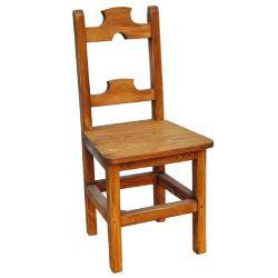 Jídelní židle z masivu 22 - selský nábytek
