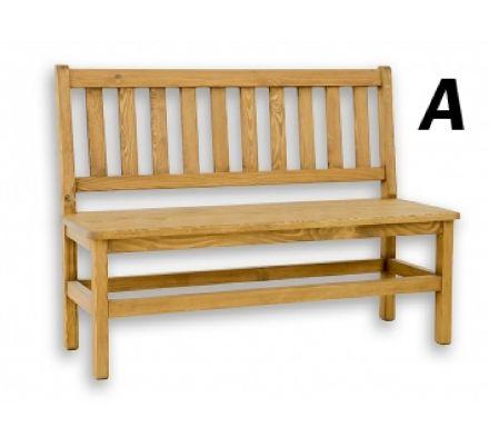 Jídelní lavice 014 - selský nábytek
