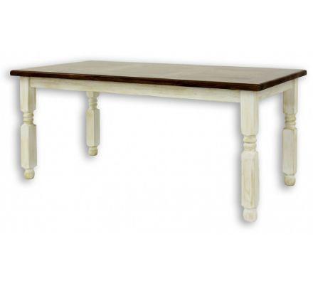 Jídelní stůl z masivu 01 - selský nábytek