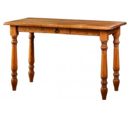 Jídelní stůl z masivu 04 - selský nábytek