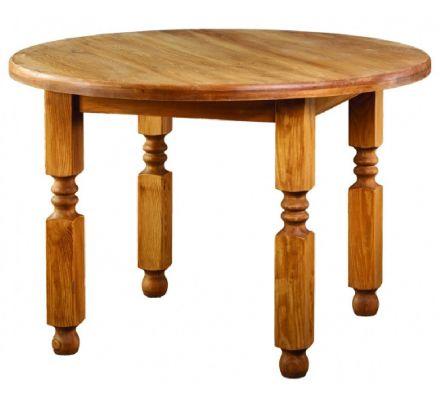 Jídelní stůl z masivu 05 - selský nábytek