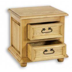 Noční stolek z masivu 12 - selský nábytek
