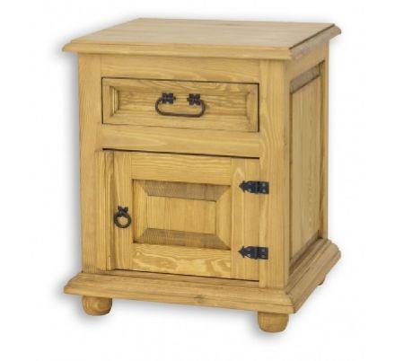 Noční stolek z masivu15 - selský nábytek