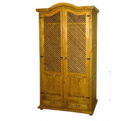 Šatní skříň z masivu 06 - selský nábytek
