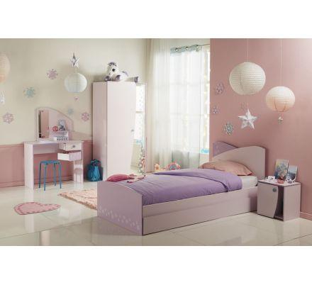 Dětský pokoj Winter I - růžová/fialková