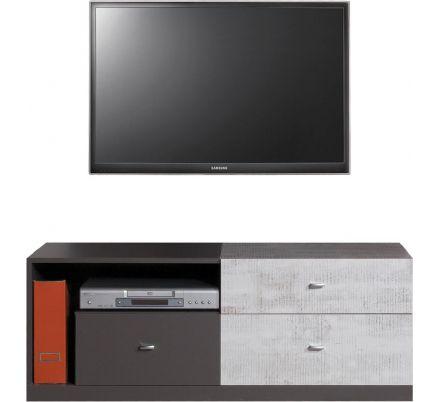 Televizní stolek Marek - grafit/enigma