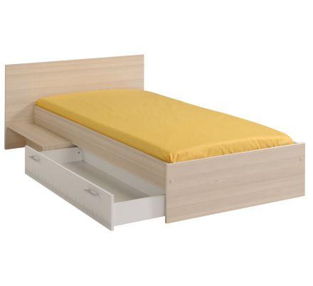 Dětská postel se schůdkem a šuplíkem 90x190cm Boob