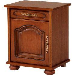 Rustikální noční stolek Bear /otevírání vpravo/