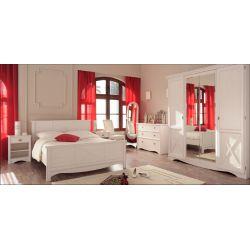 Ložnice Martina - bílá borovice