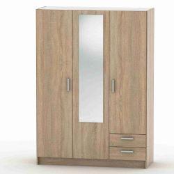 Skříň IKE 3 - buk, bardolíno