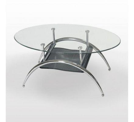 Oválný konferenční stolek T-20