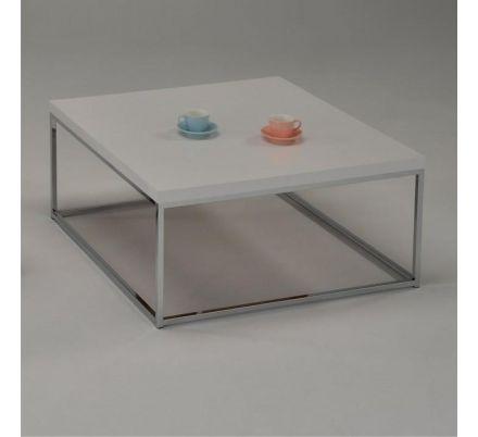 Konferenční stolek lesk 100x100cm T-12