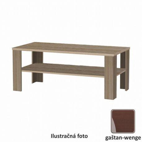 Konferenční stolek dlouhý kaštan wengeT-78