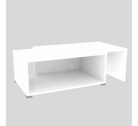 Rozkládací konferenční stolek bílý T-93
