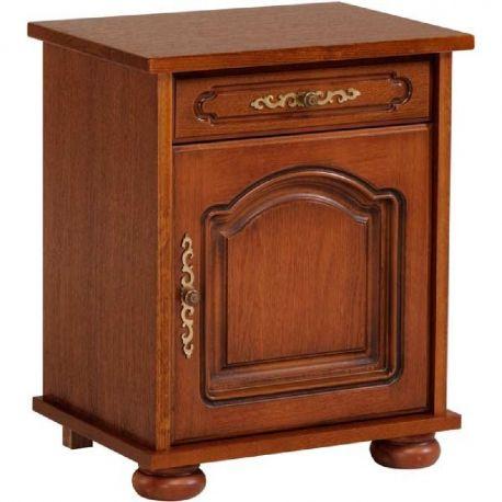 Rustikální noční stolek Bear /otevírání vlevo/