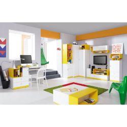 Dětský/Studentský pokoj Moli D - výběr barev