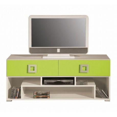 Televizní stolek Baron 11 - oranžová, modrá nebo limetka