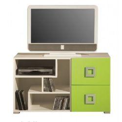 Televizní stolek Baron 10 - oranžová, modrá nebo limetka
