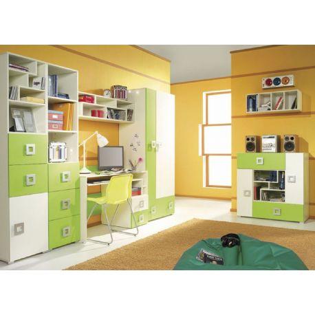 Dětský pokoj Baron D - zelený, oranžový nebo modrý