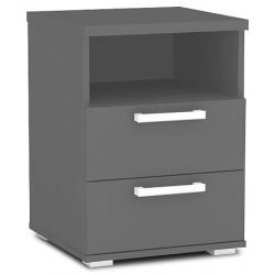 Noční stolek REA OTTAWA Up 2- graphite
