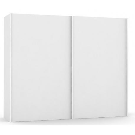 Široká šatní skřín REA Houston up 3 - bílá
