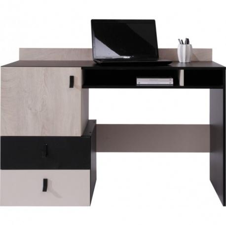 Studentský psací stůl PHILOSOPHY - černá / béžová