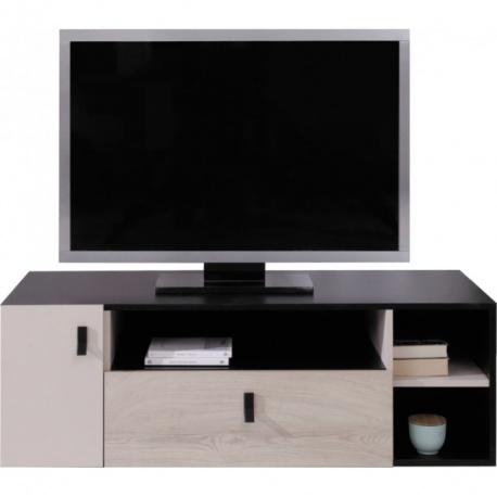 Televizní stolek PHILOSOPHY - černá / béžová