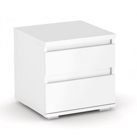 Noční stolek REA Amy 1 - bílá