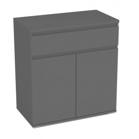 Komoda REA Amy 5 - graphite