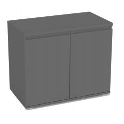 Dveřová komoda REA Amy 6 - graphite