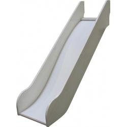 Skluzavka k vyvýšené posteli Dash - borovice/bílá