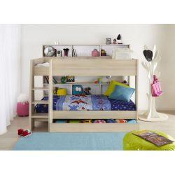 Patrová postel se šuplíkem Boob - akácie