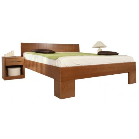 Masivní postel s úložným prostorem Varezza 6B