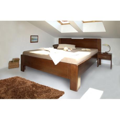 Masivní postel s úložným prostorem K-design 3