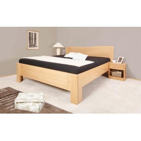 Masivní postel s úložným prostorem K-design 1 80
