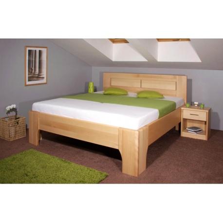 Masivní postel s úložným prostorem Olympia 3 - 120