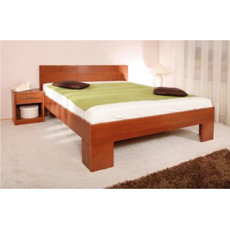 Masivní postel s úložným prostorem Varezza 6B 120