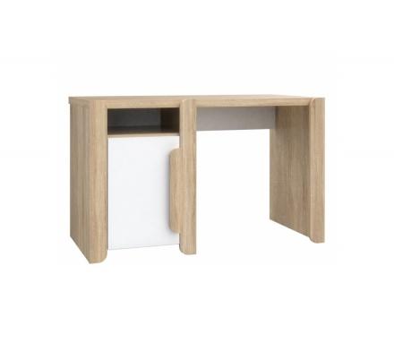Psací stůl Face - dub sonoma/bílá