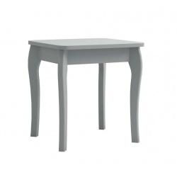 Stolička Baroko - tmavě šedá